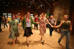 Tuesday Night Contra Dance at the Folk School.