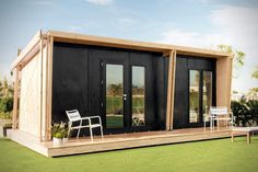 Stay Home From Work And Build This viVood Tiny Prefab House In Just 8 Hours