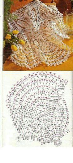 Captivating All About Crochet Ideas. Awe Inspiring All About Crochet Ideas. Free Crochet Doily Patterns, Crochet Doily Diagram, Crochet Circles, Crochet Mandala, Crochet Chart, Thread Crochet, Crochet Motif, Crochet Coaster, Tricot D'art