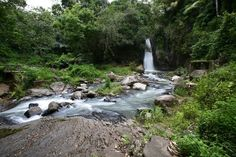 Waterfall in Moni