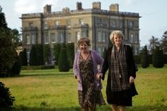 """Hedsor House, setting for movie """"Quartet"""" with maggie smith"""