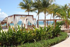 It's siesta time! we are saving a balinese bed for you! :)  Excellence Riviera Cancun, #Cancun, #MexMonday