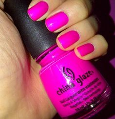 "China Glaze ""Purple Panic (neon)"""