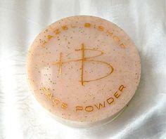 Vintage HAZEL BISHOP Face Powder - Natural Tan 2 1/4 oz 1950s Vanity - Original Condition - Full - Never Used by ODONA on Etsy https://www.etsy.com/listing/155043076/vintage-hazel-bishop-face-powder-natural