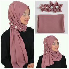 Hijab Dress, Hijab Outfit, Muslim Fashion, Hijab Fashion, Instant Hijab, Hijab Style Tutorial, Hair Scarf Styles, Eid Dresses, Hijabi Girl
