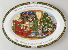 Portmeirion Christmas Story at Replacements Ltd & Portmeirion A Christmas Story 3-Piece Dinner Set | Christmas ...
