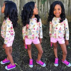 HAIRSPIRATION| Loving these curls➰ on this little beauty, Layla S/O to her mommy @Chefraziasabour for taking amazing care of her daughter's hair So cute #VoiceOfHair ========================= Go to VoiceOfHair.com ========================= Find hairstyles and hair tips! =========================