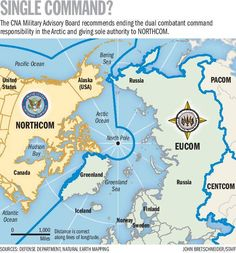 Report: Give US NORTHCOM Sole Arctic Oversight