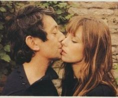 """nudei: """" fawncry: """" who are these two from, I see them a lot. """" Serge Gainsbourg and Jane Birkin; they were such a beautiful couple and such talented people."""