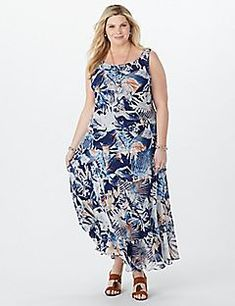 9289284579257 Find your perfect fit at dressbarn with our selection of plus size maxi  dresses   jumpsuits. Available in flowy styles   bold prints