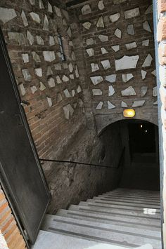 Entrance to San Callisto Catacombe, Rome, Italy
