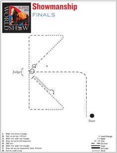 Sharpen up your maneuvers with this showmanship finals pattern