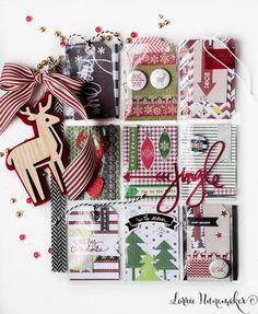 I have been making Christmas Pocket Letters. I have been making A LOT of Christmas Pocket Letters. I may have gone overbo. Pocket Pal, Pocket Cards, Christmas Paper Crafts, Christmas Cards, Christmas Countdown, Christmas Ideas, Project Life, Scrapbook Paper Flowers, Step Cards