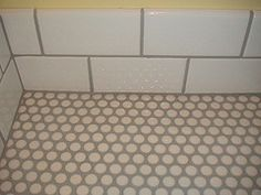 How To Grout Penny Tile Grouting Tile The And