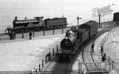 Dover, Trains Part of The Francis Frith Collection of historic photographs of Britain. Free to browse online today. Your nostalgic journey has begun. Grey Wallpaper Iphone, Steam Railway, Railway Museum, Railway Posters, British Rail, Great Western, Steam Engine, Steam Locomotive, Illustrations