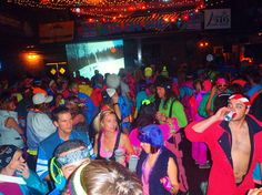 80's ski party