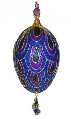 Glittered Egg -