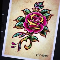 Flower power on a Saturday night   - Looking for an artist to turn your idea in to a kickass tattoo? Let's talk. Get in touch a jesper@bram.tattoo or direct message. #bramtattoo #jesperbram #tatovering #tatovør #tatoveringer #dansktatovørlaug #copenhagentattoo
