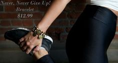 FLASH SALE! Buy a Never, Never Give Up bracelet & get 1 FREE! Sale ends at midnight 5/3/14. http://www.hoo-kong.com/hk-never-never-give-up-bracelet/