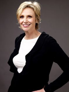 JANE LYNCH  AGE: 48  CATCH HER IN: Julie & Julia and Glee  SCHTICK: Straight-shooter persona belied by truly transgressive humor (see: oh-she-went-there turns in Role Models, The 40 Year-Old Virgin).