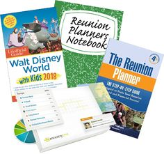 Enter to win a Reunion Planners Notebook package, The Reunion Planner Guide & Software, Ancestry DNA kit or a bundle of Disney Unofficial Guidebooks. Dna Kit, Ancestry Dna, The Reunion, Guide Book, Walt Disney World, Planners, Software, Notebook, Reading