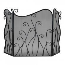 Buy the Cyan Design 02558 Bronze Direct. Shop for the Cyan Design 02558 Bronze Evalie Fire Screen and save. Farmhouse Fireplace Screens, Craftsman Fireplace, Paint Fireplace, Old Fireplace, Victorian Fireplace, Fireplace Design, Fireplace Cover, Fireplace Candles, Shiplap Fireplace