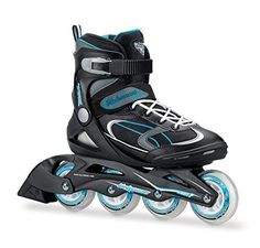 Buy Bladerunner by Rollerblade Advantage Pro XT Womens Adult Fitness Inline Skate Black and Light Blue Inline Skates | Review
