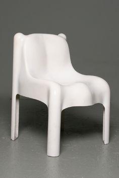 années 60, france, sièges, chaise nounours jean dudon