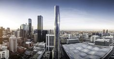 Artist's impression of new apartment skyscrapers in Melbourne | The Age