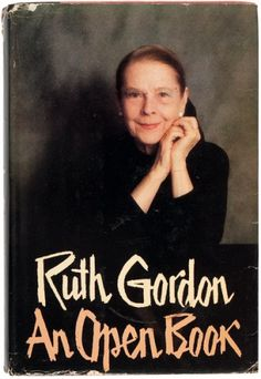 An Open Book by Ruth Gordon, from the library of Marlene Dietrich.