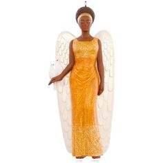 African-American Angel of Peace Ornament