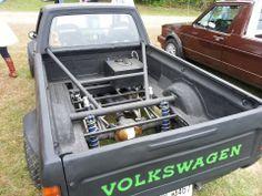 v8 Caddy rear