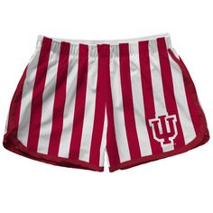 Indiana University Bloomington Bookstore - League Womens Plaid Mesh Short