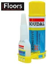 The amazing Soudal South Africa adhesive. It sets in seconds and bonds to almost anything. Available from IFloors Africa for only