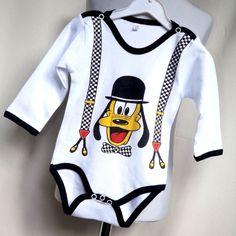 Baby Body für Junge / Langarm Babybody mit Disney Motiv  Gr. 68-86- BJ13