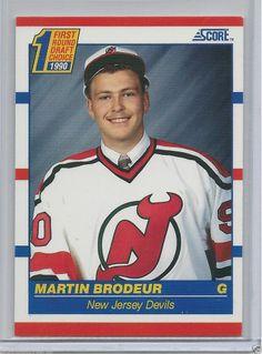 Martin Brodeur RC - 1990-91 - Score New Jersey Devils # 439 NM-MT
