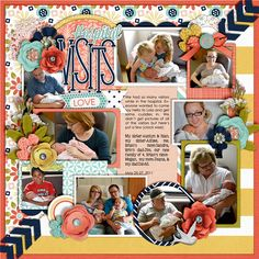 Happiness Is: New Beginnings by Meghan Mullens & Tickled Pink Studio Single 79: Lots of Snapshots 44 by Cindy Schneider Mission Script, Century Gothic & KG Be Still & Know