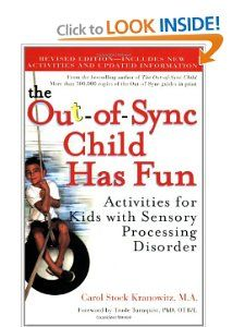 """Each activity in this inspiring and practical book is SAFE—Sensory-motor, Appropriate, Fun and Easy—to help develop and organize a child's brain and body. Whether your child faces challenges with touch, balance, movement, body position, vision, hearing, smell, and taste, motor planning, or other sensory problems, this book presents lively and engaging ways to bring fun and play to everyday situations."""