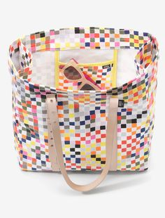 Pixel carry all tote