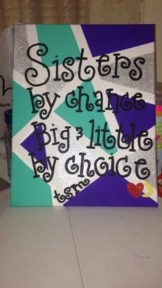 Birthday gift I made for my big! #tsm #biglittlecrafts