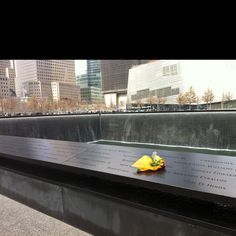 saw this memorial in NYC We Will Never Forget, Always Remember, 911 Twin Towers, Flight 93, New York Pictures, Saddest Songs, September 11, World Trade Center, Life Changing