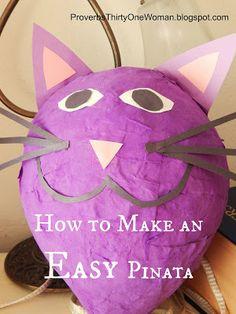 How to Make an Easy Pinata