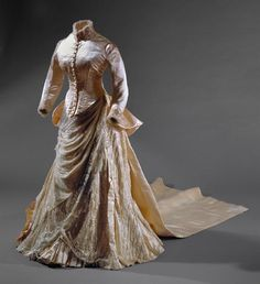 Dress, 1870's From the National Museum of Costume