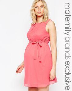 Imagen 1 de Vestido de chifón de New Look Maternity