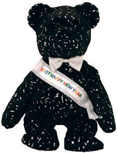 TY Beanie Baby - 2007 the New Years Bear (Internet Exclusive) 406cea54596d