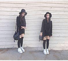 platform converse outfit - Google Search