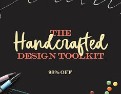 "Check out new work on my @Behance portfolio: ""The Handcrafted Design Toolkit: Fonts and Graphics Only"" http://be.net/gallery/55552801/The-Handcrafted-Design-Toolkit-Fonts-and-Graphics-Only"
