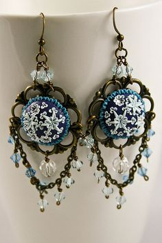 silence earrings by Chili Crab, via Flickr