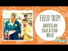 Field Trip! | American Education Week with Darlene Beck Jacobson - KidLit.TV