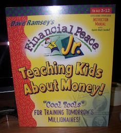 Teaching kids about money | A Bowl Full of Lemons - I am going to get this for the boys. Learning money management is so important :)